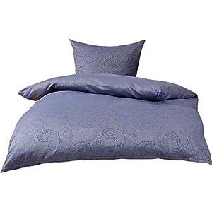 Bettwäsche 155220 Blau Grau Deine Wohnideende