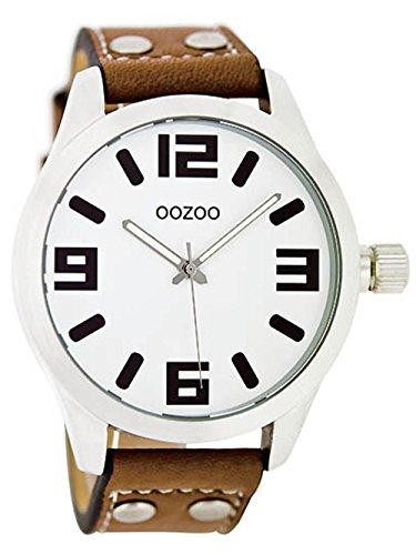 Oozoo JR151–Uhr für Frauen, Leder-Armband