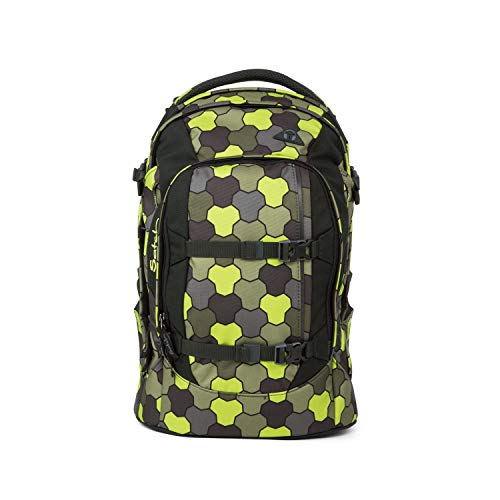 satch Pack ergonomischer Schulrucksack für Mädchen und Jungen - Jungle Flow