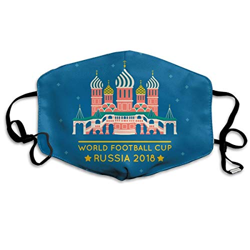 Nicegift Anti Dust Mask Russisch 2018 World Football Cup Anti Pollution Washable Reusable Mouth Masks