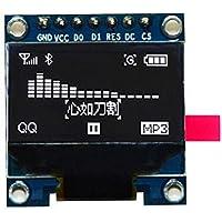 HiLetgo SSD1306 SPI Serial 128X64 OLED - Pantalla LCD para 51 STM32 (2,4 cm), color blanco.