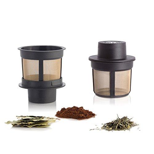 Finum FLOATING BASKET schwimmender Dauerfilter für Tee & Kaffee - Permanent Filter aus Edelstahl...