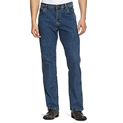 Wrangler Herren Texas Contrast Jeans Stonewash