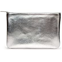 DailyObjects Silver Metallic Regular Stash Pouch/Handbag
