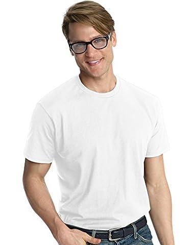 Hanes - T-shirt - Asymétrique - Homme