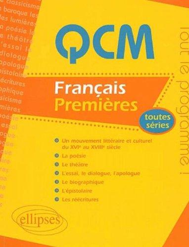 Français Première : Toutes séries par Collectif