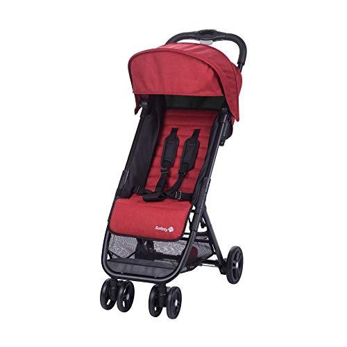 Safety 1st Teeny Passeggino Leggero/Compatto, Reclinabile e Pieghevole, da Viaggio, Rosso (Red Chic)