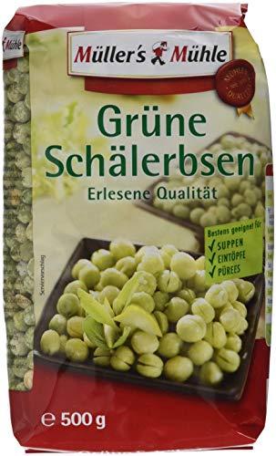 Müller´s Mühle Grüne Schälerbsen, 7er Pack (7 x 500 g)