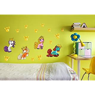 Alenio Filly Unicorn Wall Sticker Party Pack