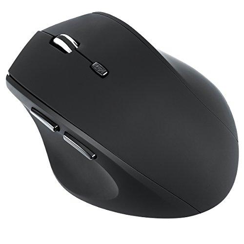 Amir Maus Schnurlos,Kabellose Maus, Schnurlos Mobil Maus , 2.4Ghz Kabellose Maus mit USB Nano Empfänger Für PC Laptop iMac Macbook Microsoft Pro, Office Home
