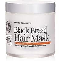 Natura Siberica Mascarilla Capilar Pan Negro, Fuerza y Brillo - 400 ml