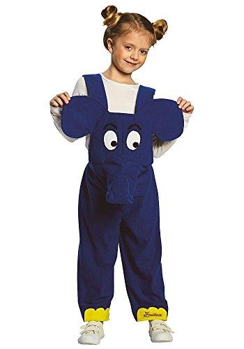 Rubie'S–Disfraz Infantil de Elefante, del Personaje de la televisión Alemana «Der Elefant»