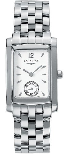 Orologio Longines Donna L55024166 Al quarzo (batteria) Acciaio Quandrante Bianco Cinturino Acciaio