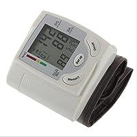 LL-Monitor de presión arterial de muñeca portátil Medición de pulso de ritmo cardiaco digital de corazón digital Medida con LCD