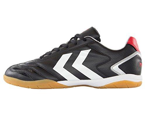 Hummel Herren Brian Indoor Schuhe, Hallenschuhe Farbe: Schwarz/Weiß; Größe: EUR 39 | US 7 | UK 6