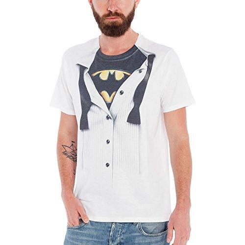 Batman Blouse T-Shirt weiß L