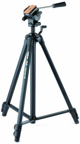 Velbon Videomate-438 Video Dreibein-Stativ (Höhe 153,5 cm) schwarz - Video-stativ Fluidkopf