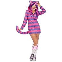 Leg Avenue Cozy gato de Cheshire, mujer Carnaval Disfraz