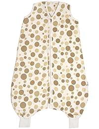 Slumbersac–Gigoteuse en Mousseline pour Bébé avec pieds environ 0,5Tog–circles- Disponible en 4tailles