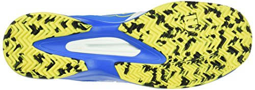 Wilson Kaos Comp Bl/Wh/Ye, Chaussures de Tennis Homme Multicolore (Bright Blue A1WG)