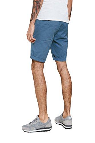 Threadbare -  Pantaloncini  - Chino - Uomo Powder Blue