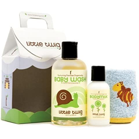 Little Twig Mini Gift Set - Unscented-UNSCENTED-1, count by Little Twig - Mini Twig