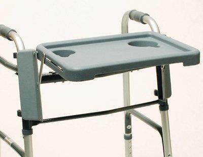 """Lumex 603900A Walker Tray, Grey, 16"""" W x 12"""" D"""