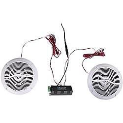 Kit Haut-Parleurs de Plafond avec Connexion Bluetooth