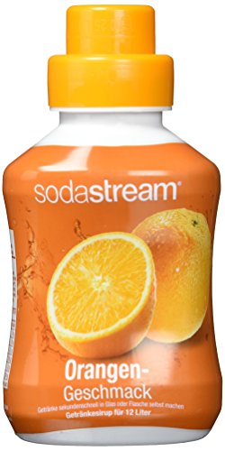 2 x Sodastream Orange Sirup