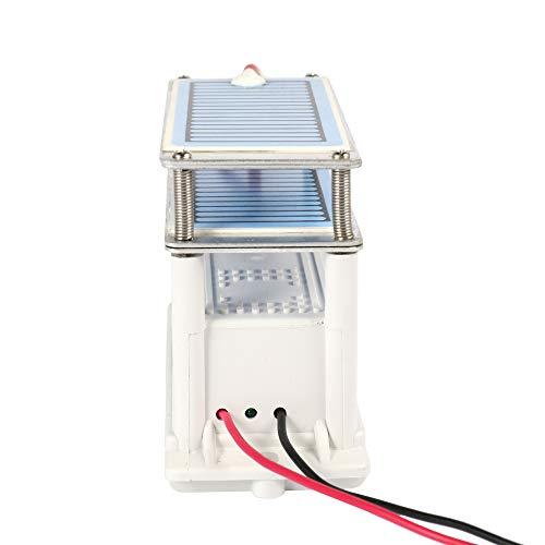 Festnight Portátil 20g / h 220 V de Ceramica Generador de Ozono Doble Placa Integrada Ozonizador Purificador...