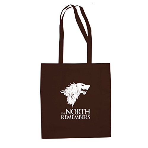 GoT: The North Remembers - Stofftasche / Beutel Braun