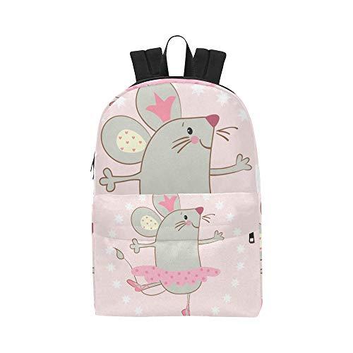 a9b116c997 Smart Mouse Petit Animal De Bande Dessinée Classique Mignon Ordinateur  Portable Imperméable Étanche Daypack Sacs École
