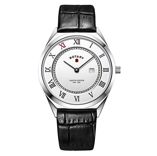 Rotary Unisex-Armbanduhr im 1. Weltkrieg (englische Königliche Legion) BRITISHLEGION1