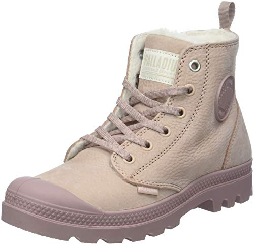 Palladium Damen Pampa Hi Zip Wl Stiefeletten, Pink (Rose Dust/Fawn P98), 38 EU Hi Side Zip