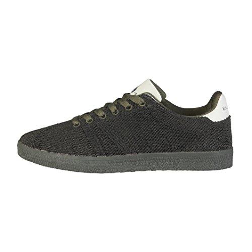 U.s. Polo Assn WIND4099W7/T1 Petite Sneakers Homme Vert foncé