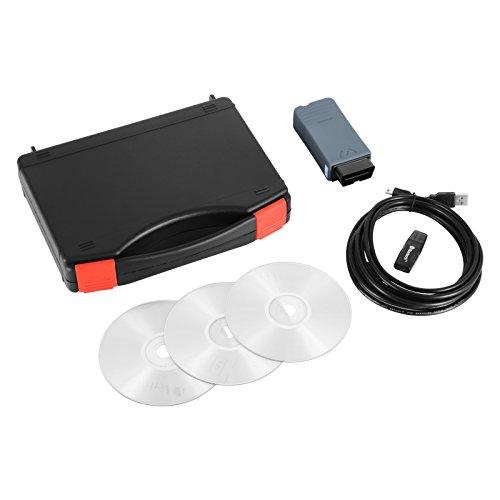 Preisvergleich Produktbild ZauberLu Auto-Fehler-Diagnosegerät OBD2 Automatische Auto-Diagnose Software Bluetooth V3.0.3 Auto Diagnosescanner für Audi VW (Auto-Fehler-Diagnosegerät)