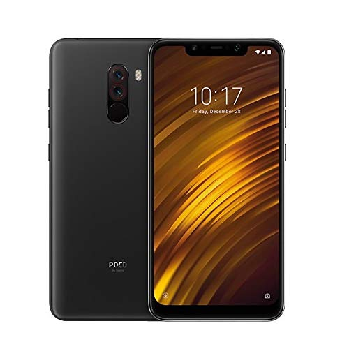 Xiaomi Pocophone F1 Global Version 6.18 Inch 4G Smartphone (6GB + 64GB 5 MP / 12 MP Snapdragon 845 4000 mAh mAh) (Negro)