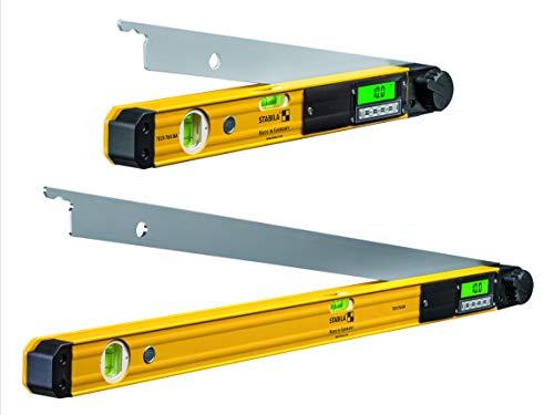 STABILA Elektronik-Winkelmesser TECH 700 DA, 45 cm, mit Digital-Display