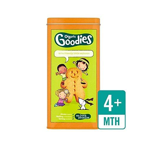 Organix Goodies Étain 230G - Paquet de 6