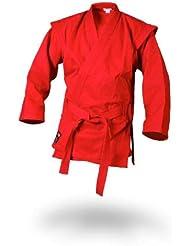 Sambo Chaqueta–kurtka–Color Rojo Incluye Cinturón, 190