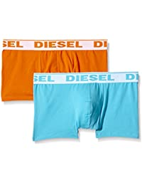 Diesel Men's Polycotton Trunks (Pack of 2) (Colors May Vary)