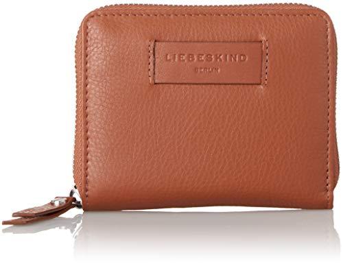 Liebeskind Berlin Damen Essential Conny Wallet Medium Geldbörse, Braun (Bourbon), 3x11x13 cm (Pan X 12 10)