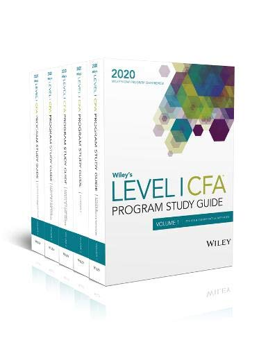 Wiley′s Level I CFA Program Study Guide 2020: Complete Set