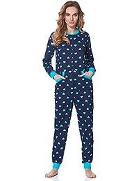 Merry Style Damen Jumpsuit Schlafanzug MS10-175