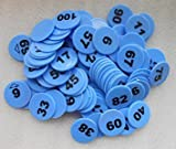 #2: Plastic Numerical Token/Coins Pack Of 1 To 200