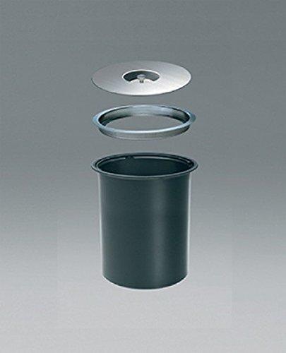 Wesco Ergomaster 5 L - schwarz - Einbau in Arbeitsplatte Bio Mülleimer