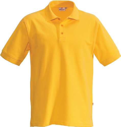 "HAKRO Polo-Shirt ""Performance"" - 816 - sonne - Größe: XL (Polo Fashion Erwachsene)"