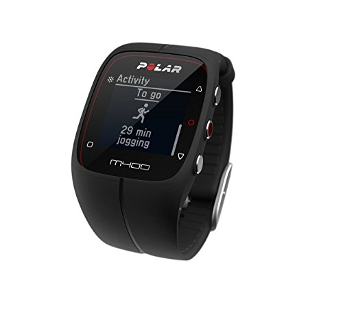 Polar M400 GPS Watch with Heart Rate Monitor – Black