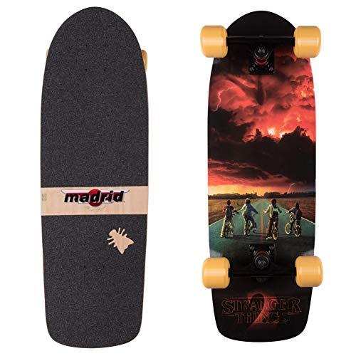 Madrid Skateboards x Stranger Things Cruiser Komplettboard ST2 Road Poster 74,3cm -