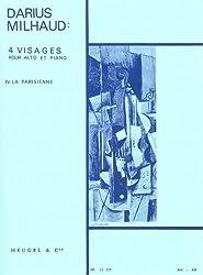 Milhaud: La Parisienne Op.238, No.4 (Viola & Piano)
